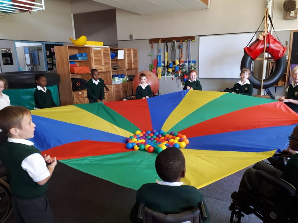 Occupational therapy classroom
